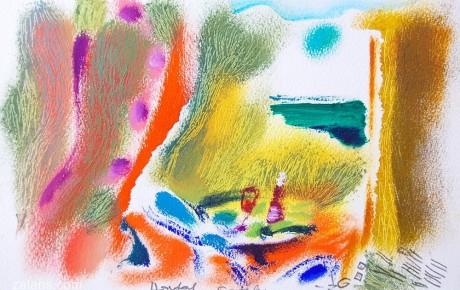 005,35x44,oil,ink,paper,2007,Spain,ArtProjects,Catalonia-pattern