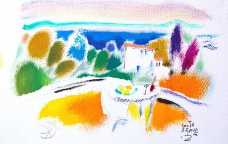 033,35x44,oil,ink,paper,2007,Spain,ArtProjects,Catalonia-pattern