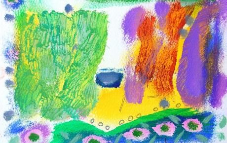 052,35x44,oil,ink,paper,2007,Spain,ArtProjects,Catalonia-pattern