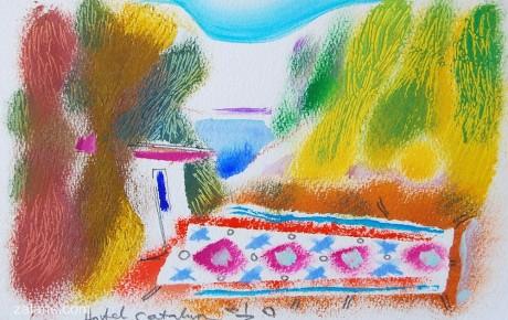 058,35x44,oil,ink,paper,2007,Spain,ArtProjects,Catalonia-pattern