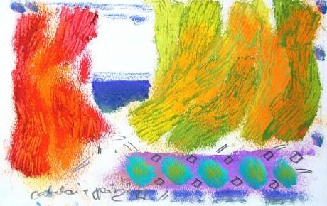 059,35x44,oil,ink,paper,2007,Spain,ArtProjects,Catalonia-pattern