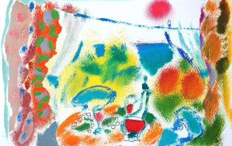 060,35x44,oil,ink,paper,2007,Spain,ArtProjects,Catalonia-pattern