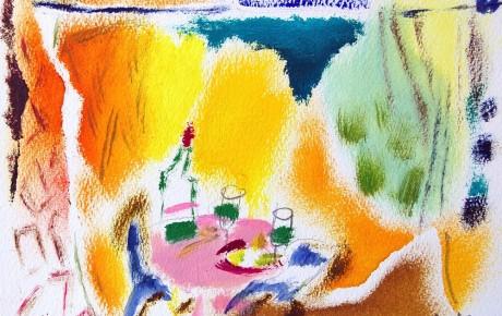 070,,35x44,oil,ink,paper,2007,Spain,ArtProjects,Catalonia-pattern