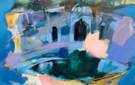 Fes,Morocco,100x100,oil,canvas,2008,Morocco,AP