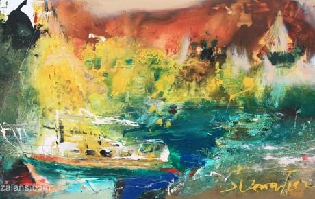 Sumartin,90x120,oil,canvas,2011,Croatia,AP,Sold