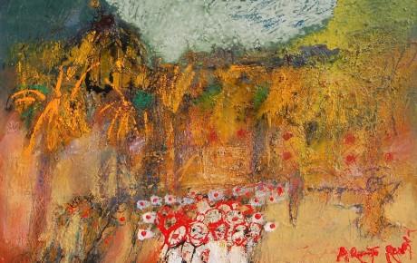 arigato.rambla,70x90,oilcanvas,2008,Latvia,Nature