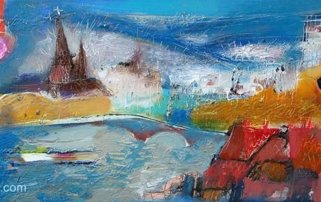 belgium-story,40x80,oil,canvas,2008,Belgium,Nature
