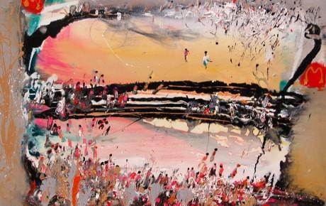 fiesta,80x100,oil,canvas,2007,Latvia,AP