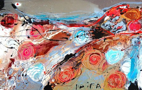 haifa,40x80,oil,canvas,2007,Israel,AP,Sold