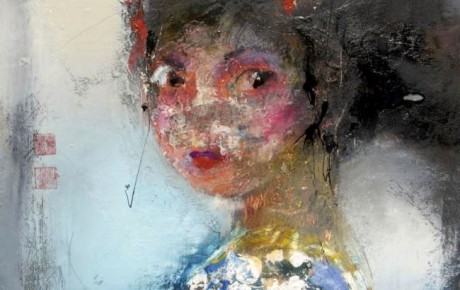kyoto_girl.-53x53,oil,canvas,2010,Japan,People,Portrait,Sold