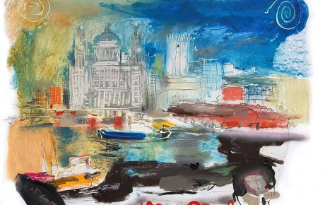 liverpool,70x100,oil,paper,2009,Latvia,Nature