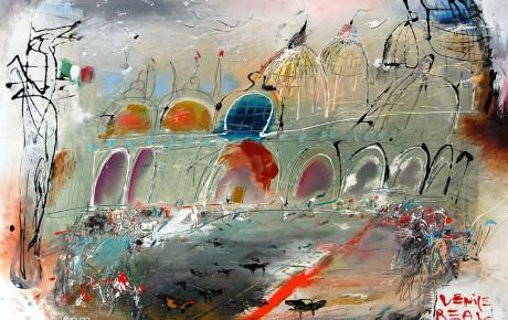 san-marco,70x100,oil,paper,2007,Austria,AP,Sold