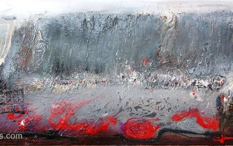 thewall,50x90,oil,canvas,2007,Latvia,AP