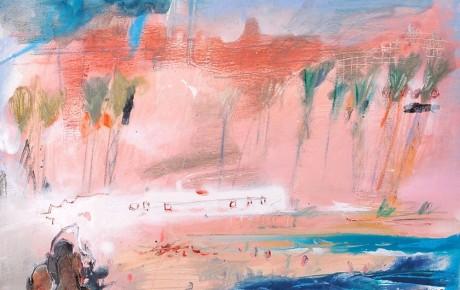 tunisia,50x50,oil,canvas,2008,Tunisia,Nature,Sold