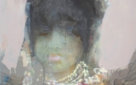 toraja girl, o.,c., 160x140,2014, indonesia