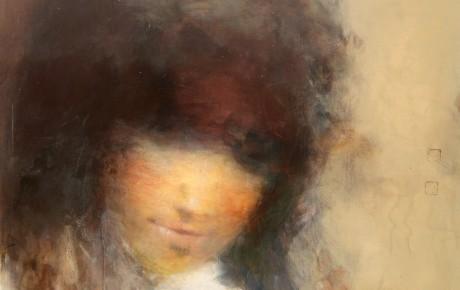 fayum portrait, ooc,100x120,2016