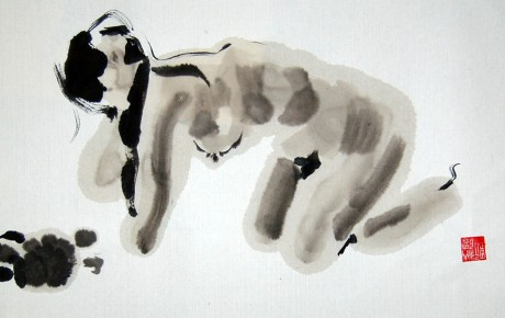 a1,25x40,ink,paper,stamp,2010,China,ArtProjects,Ink,Sold