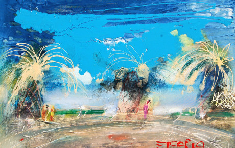 beach.eretria,60x90,oil,canvas,2008,Greece,Nature
