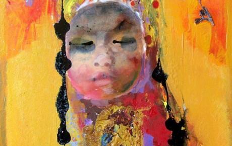 gadis-malay,60x50,oil,canvas,2011,Malaysia,People,Portrait