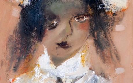 schoolgirl,120x100,oil,canvas,2012,Latvia,People,Portrait