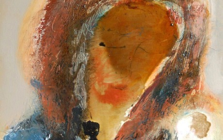 ukr.madonna,50x50,oil,canvas,2010,Ukraine,People,Portrait