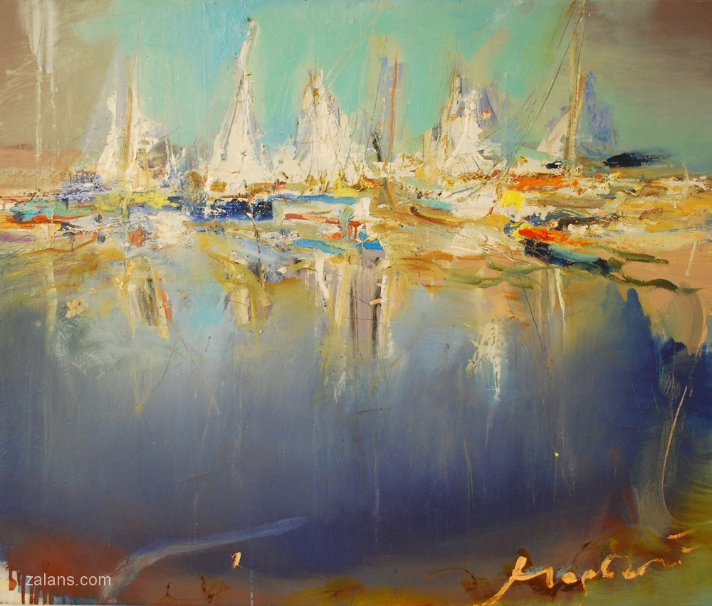 eastern-harbour100x120oilcanvas2013-Latvia-Nature