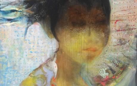javanese girl, o.,c.,  180x140, 2014, indonesia