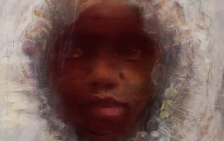 Borneo girl, ooc,180x140,2014, Zalans