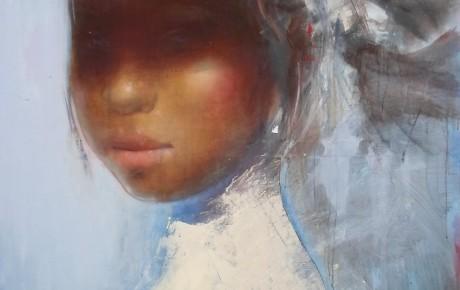 javanese girl,180x140,AOC,2014
